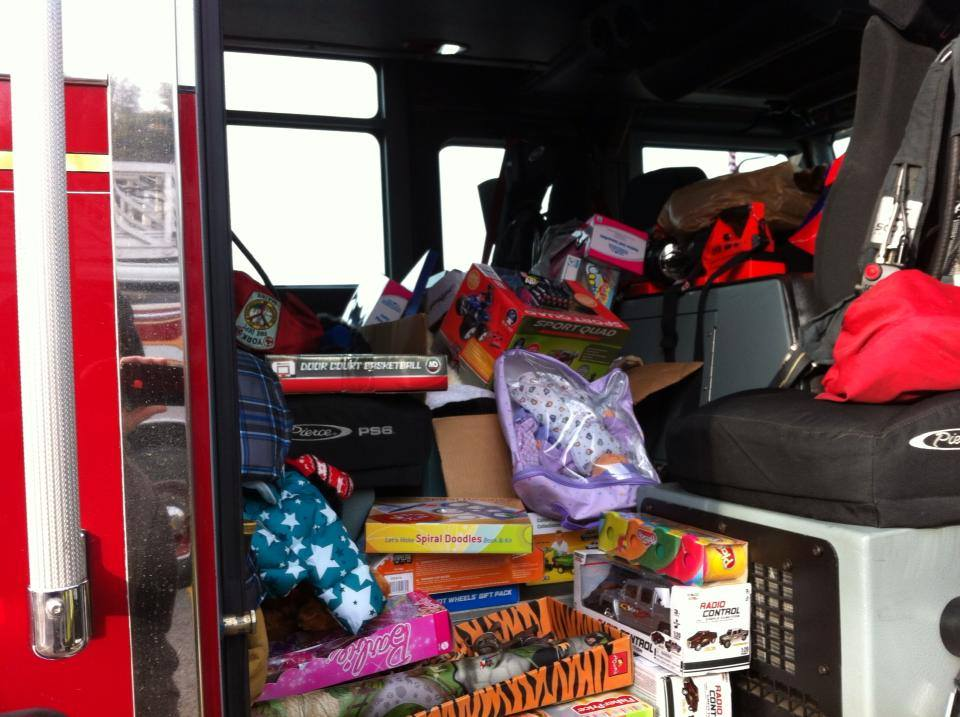 Fill A Truck 2017 Toys For Tots : Nd annual toys for tots fill a fire truck event